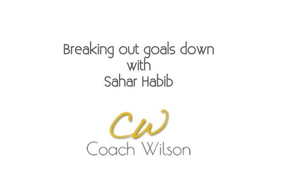Breaking Down Our Goals